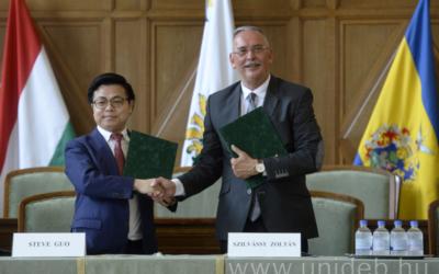 Megkezdődött az Együttműködés Debreceni Egyetemmel